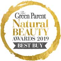 Green Parent Natural Beauty Awards 2019 voted best buy