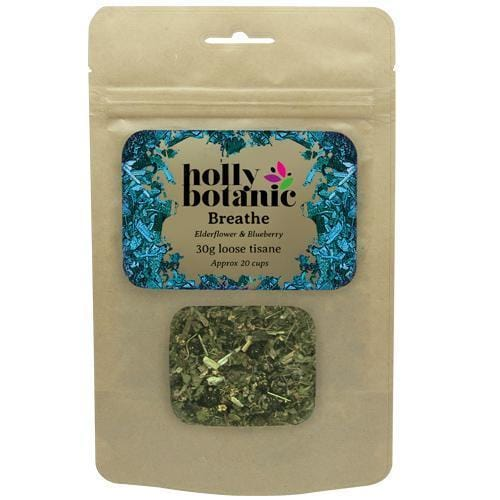 Holly Botanic Breathe loose tisane for nasal congestion