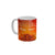 FunkyTradition Wishing you and your family Health Success Peace Happy Diwali Ceramic Mug, 350 ML, Multicolor
