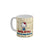 FunkyTradition Hello Kitty A Day Happy In The Happy Life of us Cartoon Ceramic Coffee Mug