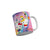 FunkyTradition Hello Kitty Rainbow Cartoon Ceramic Coffee Mug