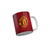 FunkyTradition Manchester United Football Red Ceramic Coffee Mug