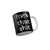 FunkyTradition Fuck That Shit Black Quotes Ceramic Coffee Mug, 350 ml