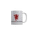 FunkyTradition I Will Keep The Red Flag High Grey Quotes Ceramic Coffee Mug, 350 ml