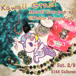 Kawaii Gras Pop-up @Petite Rouge Cafe