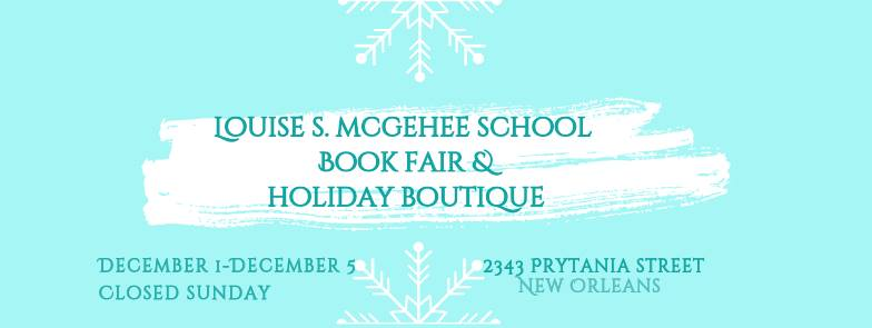 McGehee Holiday Sale