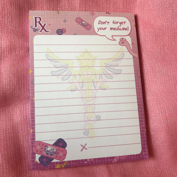 Magical Girl First Aid Notepad
