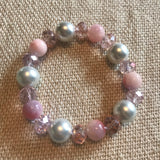 Beaded Glass Bracelet