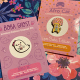 Boba Ghost Pin
