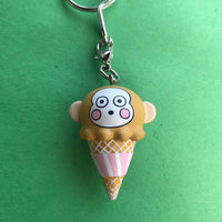 Hello Sanrio Ice Cream Keychain