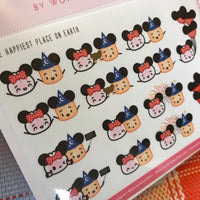 Happiest Place on Earth Stickers