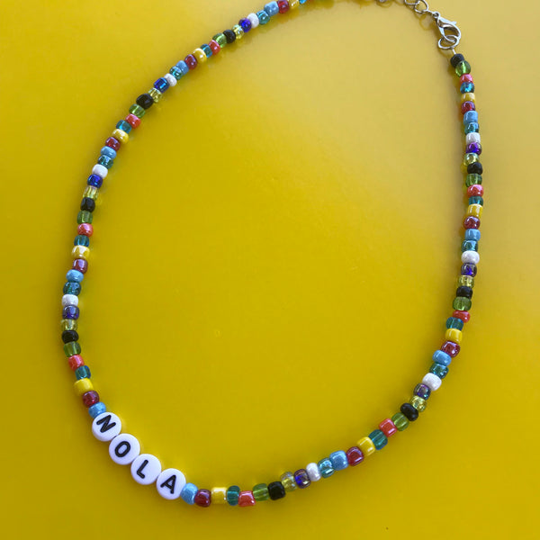 NOLA Beaded Necklace