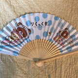 Rilakkuma Otter Folding Fan