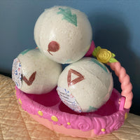 Pokemon Egg Bath Bomb