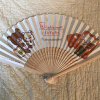 Rilakkuma Sakura Folding Fan