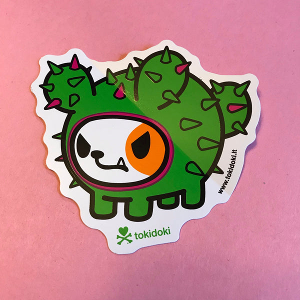 Cactus Dog Sticker