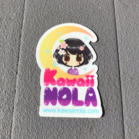 Kawaii NOLA Sticker