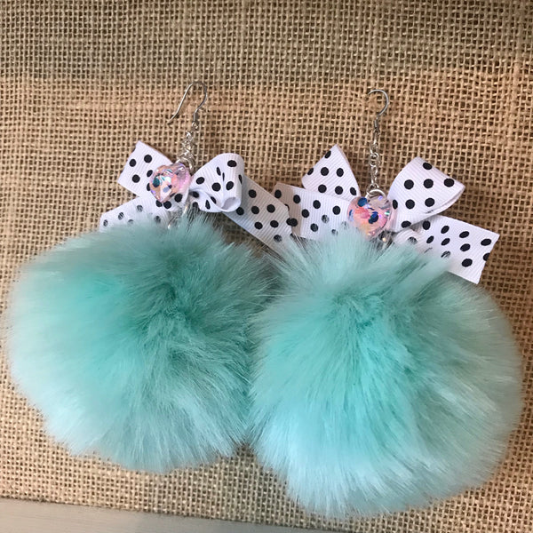Poof Earrings
