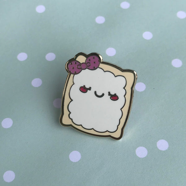 Blushing Beignet Pin