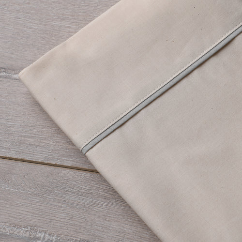Southern Drawl Pillow Cases (2) (Natural Grey)