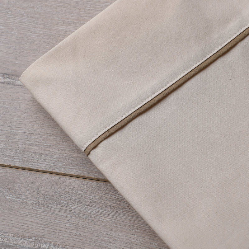 Southern Drawl Pillow Cases (2) (Natural Khaki)