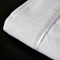 Southern Drawl Sheet Set (White Satin)