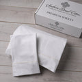 Southern Drawl Sheet Set (White Tan)