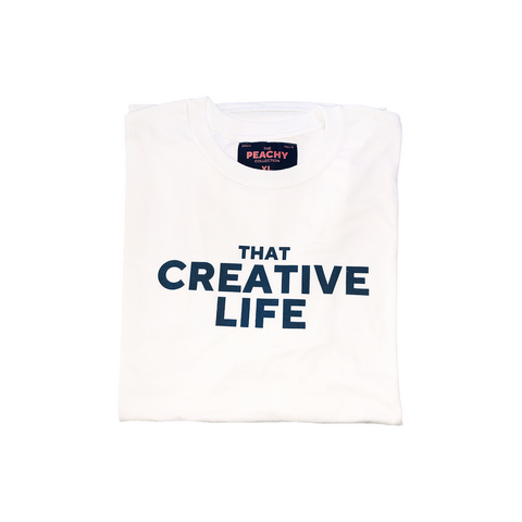 That Creative Life Tee - White