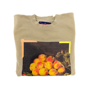 Stay Peachy Crewneck Sweater
