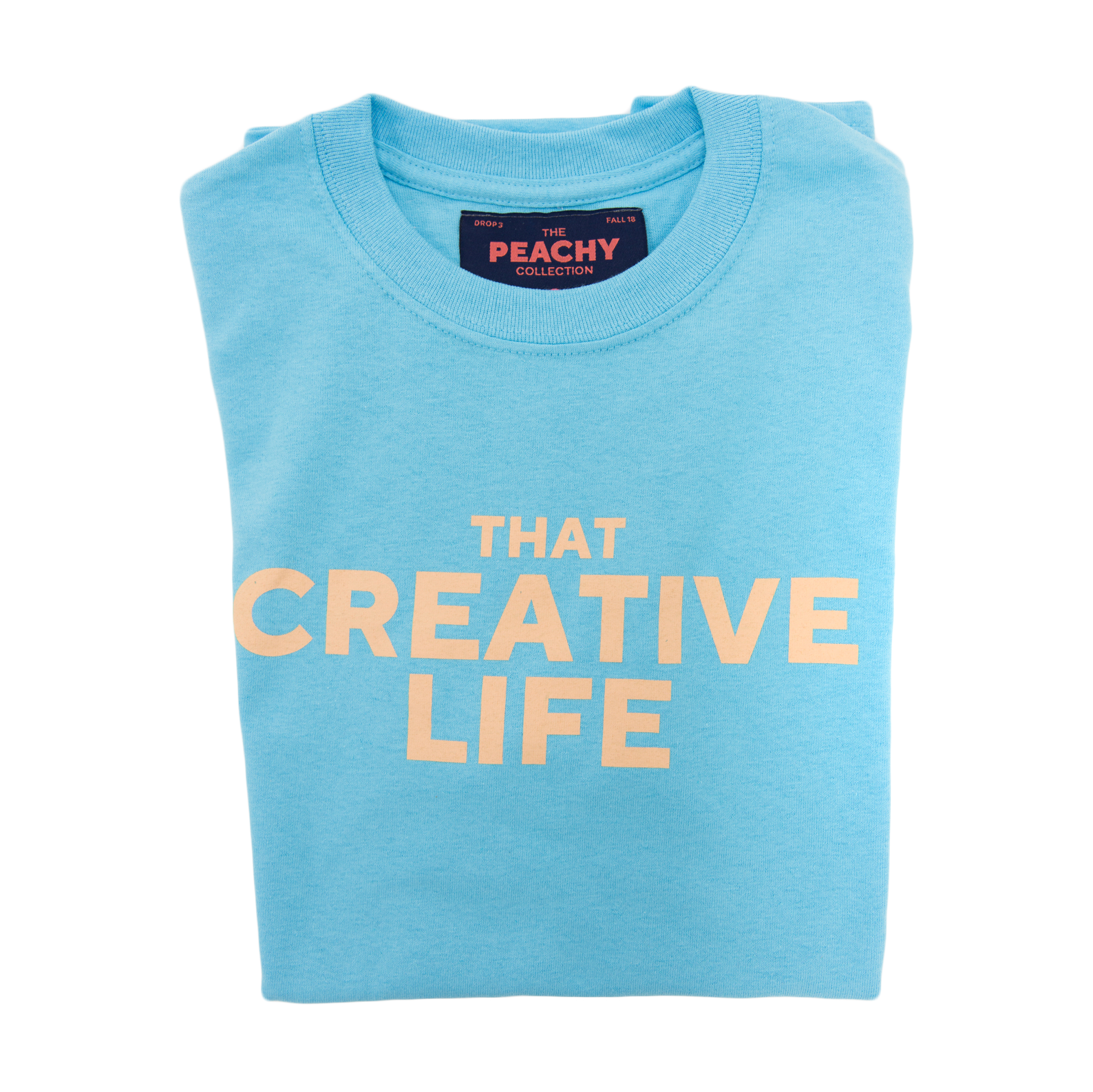 That Creative Life Tee - Sky Blue