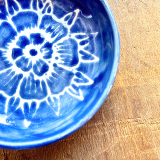 SECONDS: Hand Painted Ceramic Dish