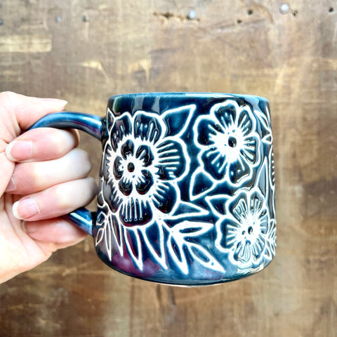 Hand Painted Ceramic Mug