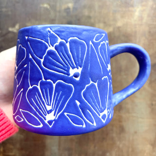 SECONDS: Hand Painted Ceramic Mug