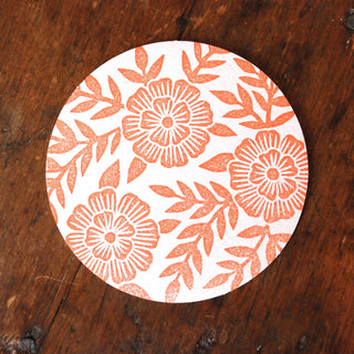 Block Printed Coaster