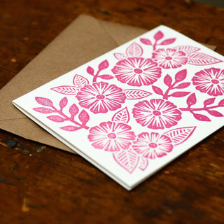 Block Printed Blank Cards