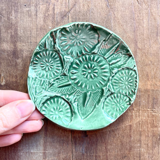 SECONDS: Block Printed Ceramic Dish