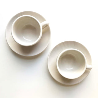 Hand Painted Ceramic Espresso Set