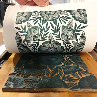 Linoleum Carving and Block Printing Workshop - July 20+21