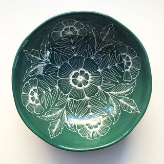 Hand Painted Ceramic Bowl