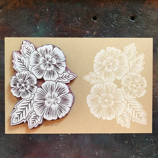 Linoleum Carving and Block Printing Workshop - May 16+17