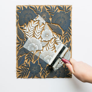 Linoleum Carving and Block Printing Workshop - August 22+23