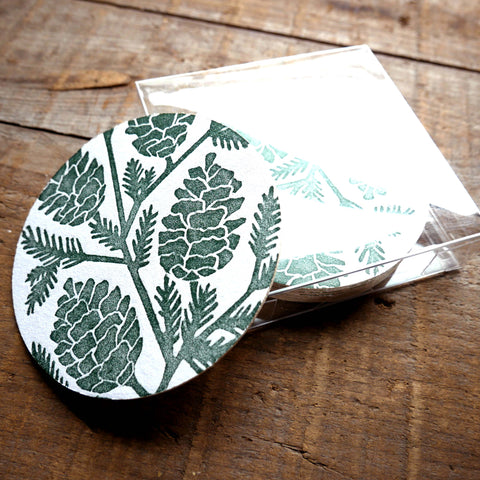 Block Printed Coasters