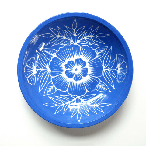 Hand Painted Ceramic Dish