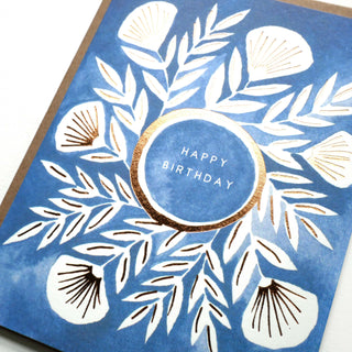 """Happy Birthday"" Foil Stamped Cards"