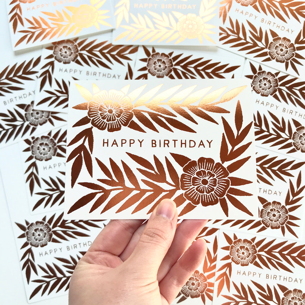 Bulk Happy Birthday Cards - 25 Cards