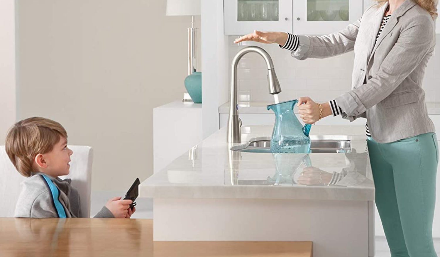 Best touchless smart faucet by Moen
