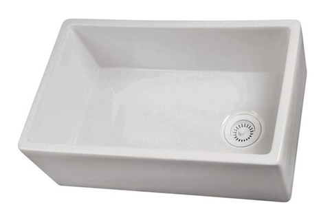 Fireclay kitchen sink material