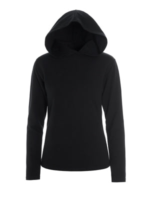 Top-Long Sleeve-with Oversized Hood - Girl
