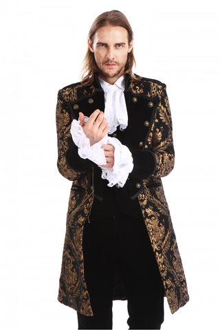 Coat-Aristocrate-Gothic-Black&Gold