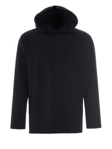Top-Long Sleeve-with Oversized Hood - Men